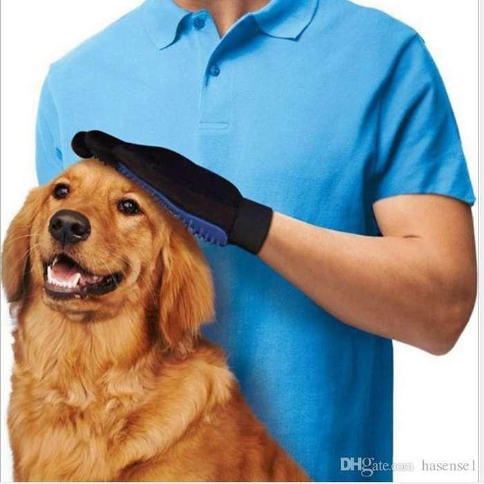 Guante De Silicona Masajeador Para Mascotas <strong>perros</strong> Gatos