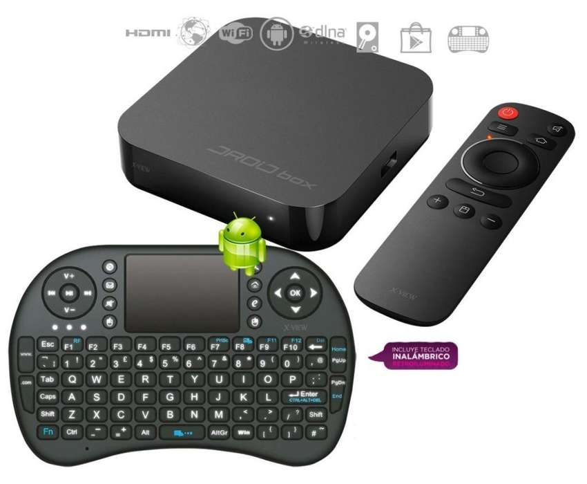 Droid Box Plus Xview Smart Tv Box Android Wifi Netflix Hdmi