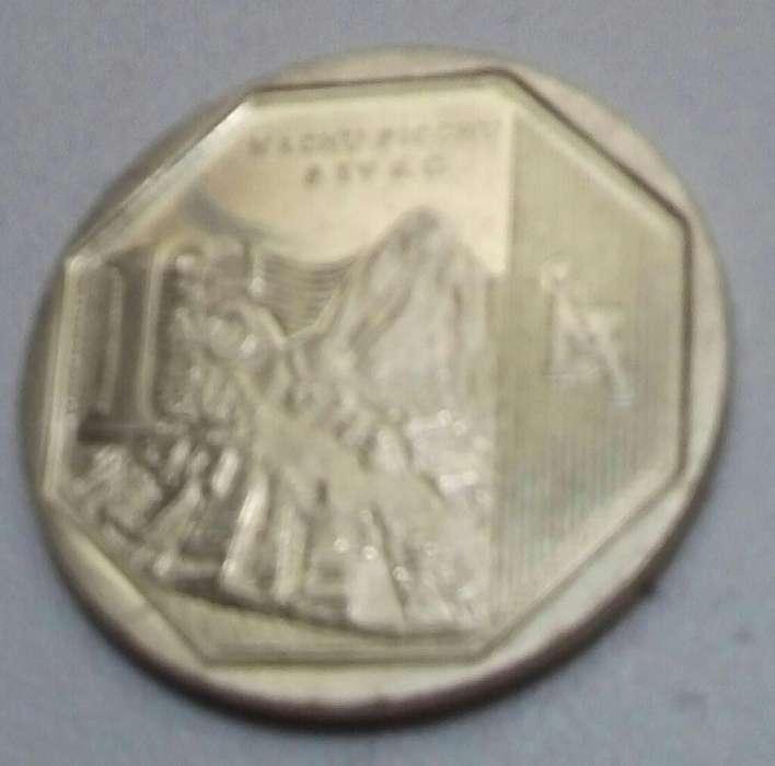 Moneda de colección Macchu Picchu