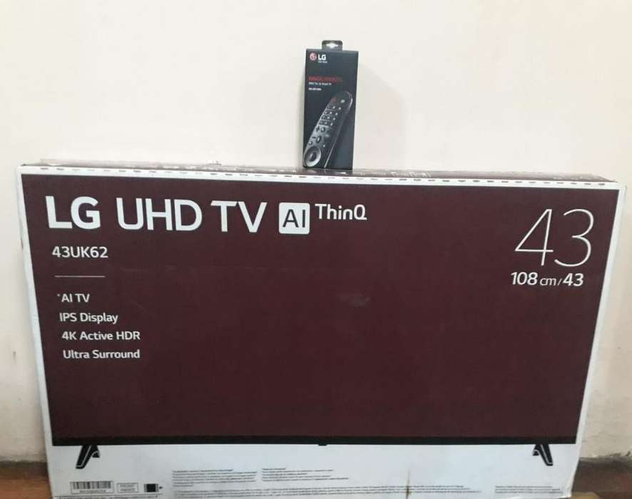 Led Lg Uhd 4k Smart Tv 43 Magic Control