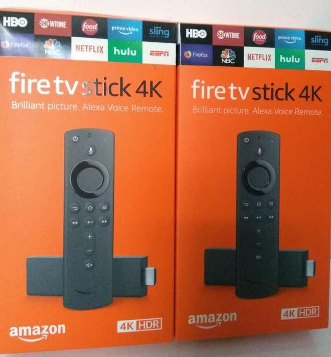 Amazon Fire Tv Stick 4k Adaptador Usb Funda en silicona, soporte de google para Youtube