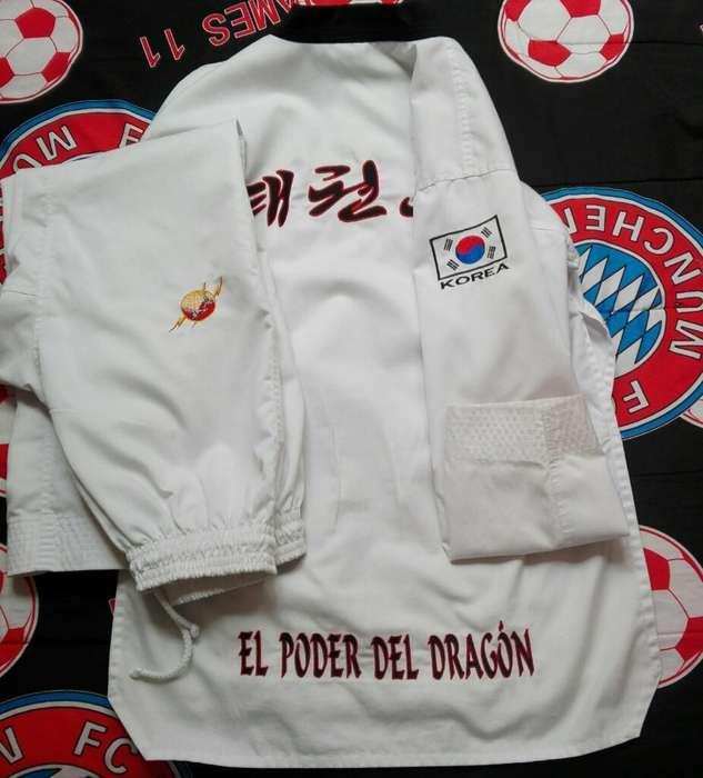 Uniforme Taekwondo El Poder Del Dragón.
