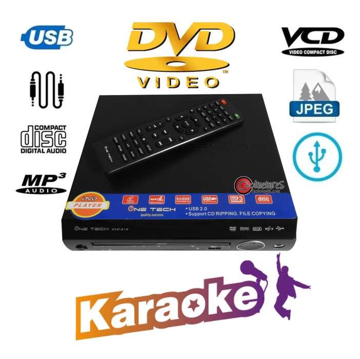 Reproductor Dvd Karaoke Usb, <strong>mp3</strong>, Mp4, Cd, Pantalla Led