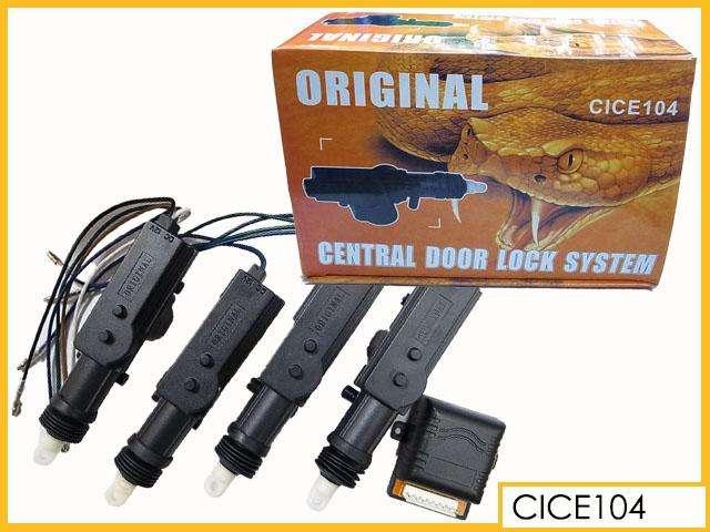 Kit de Cierre Centralizado Para 4 Puertas / seguro para puertas de auto