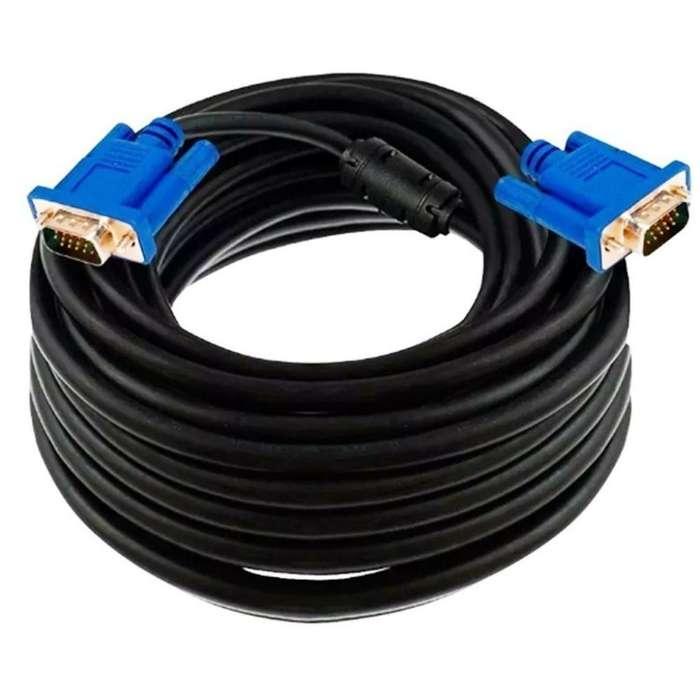 Cable Vga 20mts Usado Buen Estado Econom