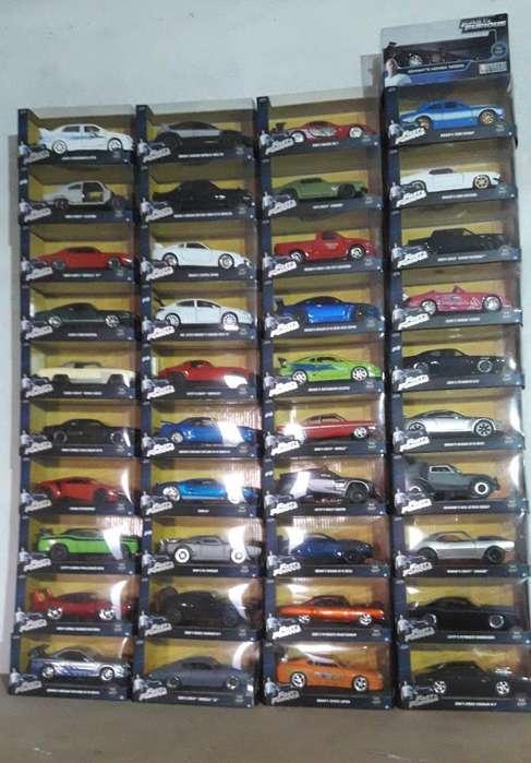 Autos de Colección de Rapidos Y Furiosos