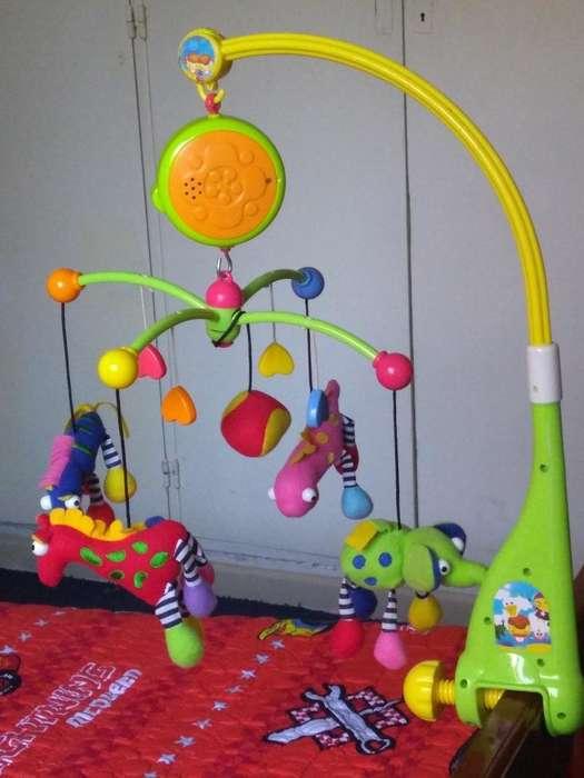 Mobil Musical para Bebés