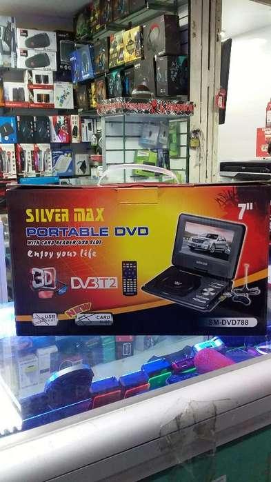 Dvd Portatil Silver Max