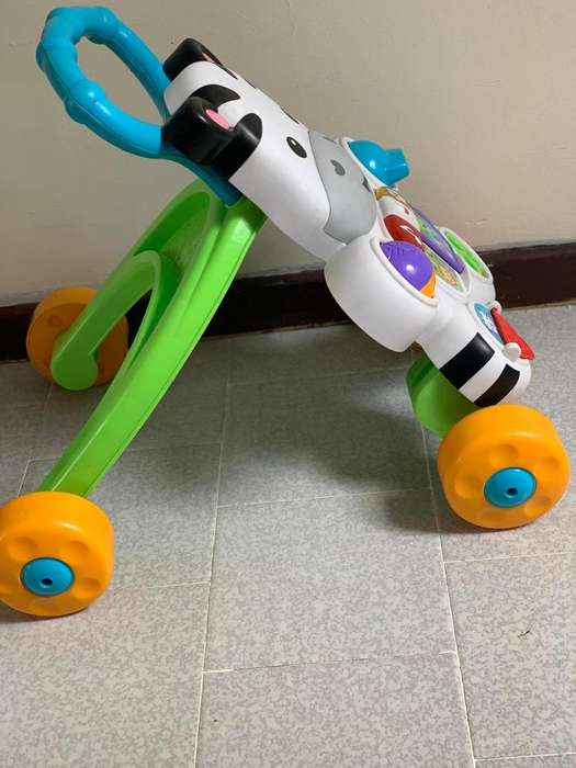 Caminador cebra fisher price
