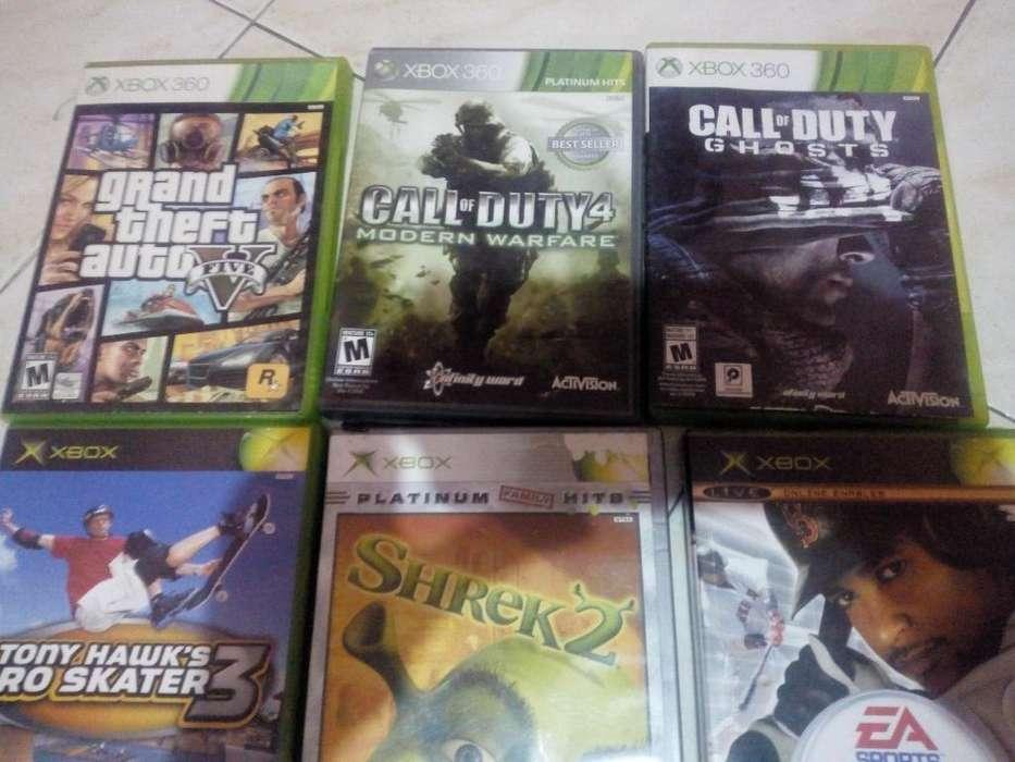 se venden juegos de xbox 360 y clasico