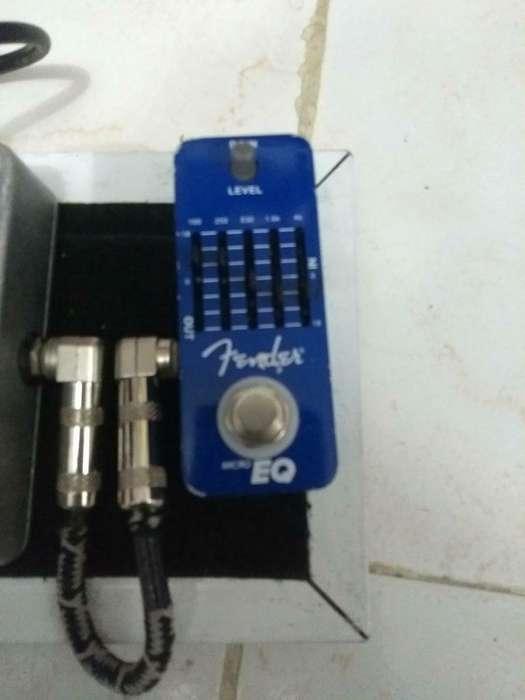 Pedal Equalizador Fender