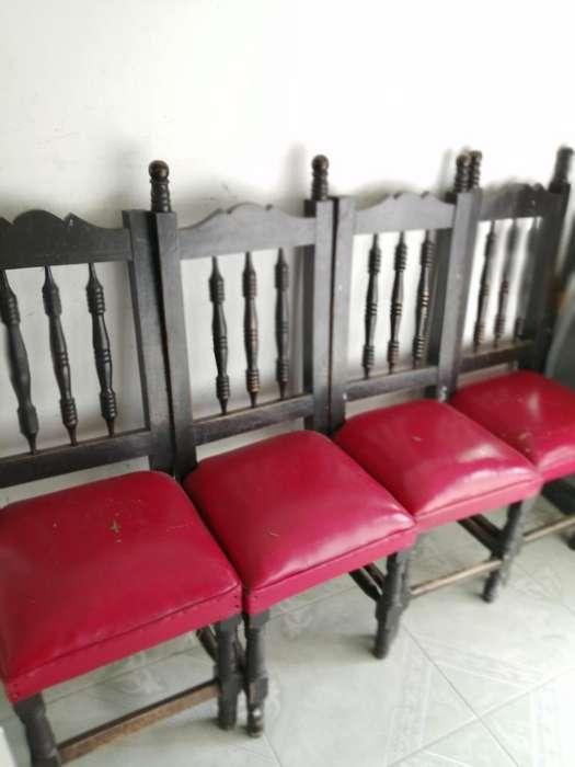 Vendo 6 <strong>silla</strong>s en Cedro Antiguas