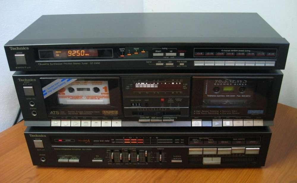 Technics Ampli Su Z450 50 50w Deck Y Sinto Func. En Martinez