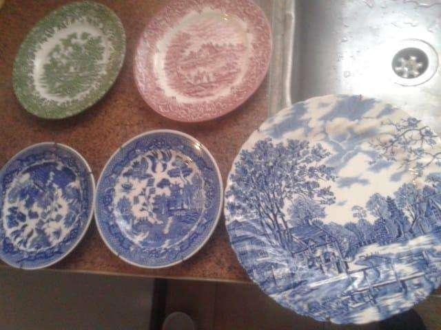 Platos decorativos ingleses - Japan