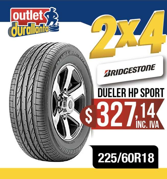 LLANTAS 225/60R18 BRIDGESTONE DUELER HP SPORT EQUINOX X3 XDRIVE 30i AX7 NX300H AC