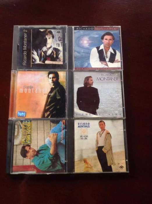Colección de 6 CDs de Ricardo Montaner