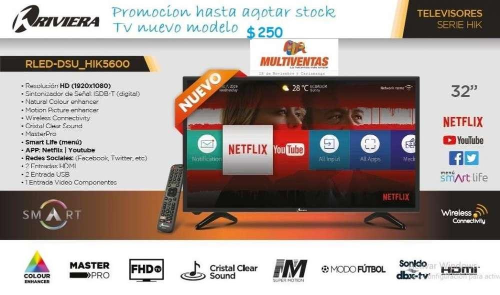 Tv Riviera de 32 Pulgadas Smart tv 2019