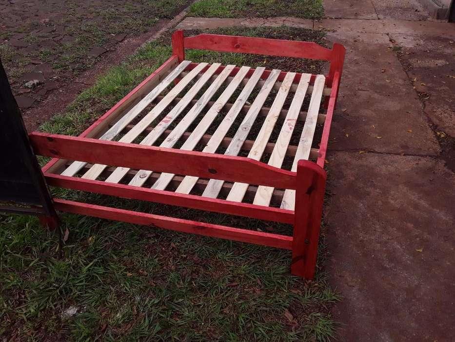 Vendo <strong>cama</strong> con Colchon 2 Plasa Nueva