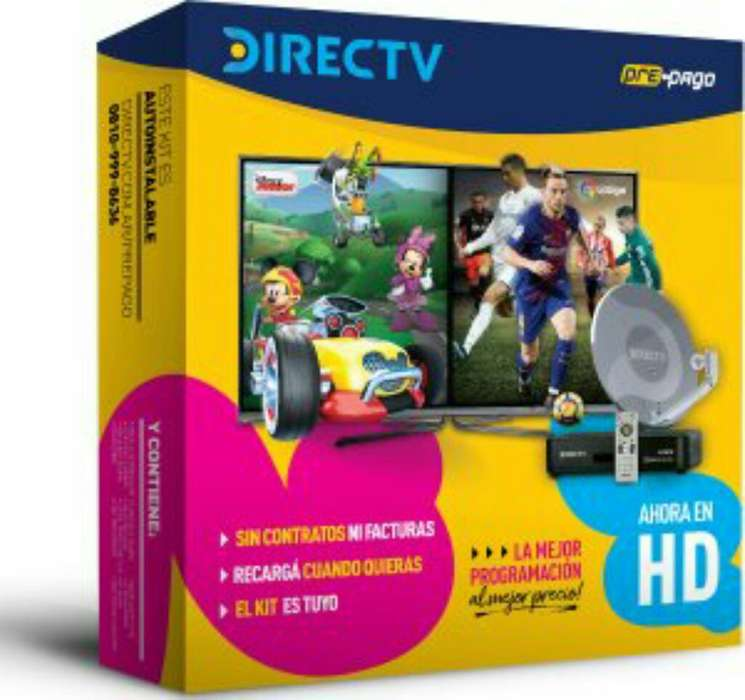 Vendo Kit Directv Prepago Hd