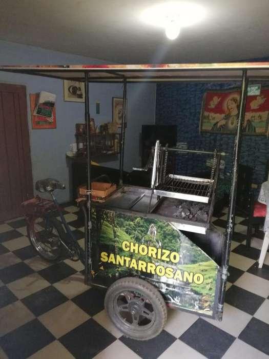 Carro de Chorizos en Acero