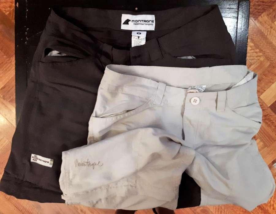d338640211 Lote pantalones Montagne desmontables de  strong secado  strong  rápido.