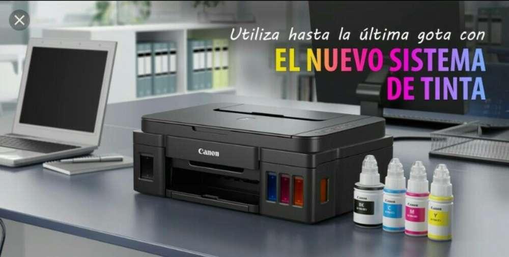 Canon G2110 Sistema Continuo tinta Impresora multifuncional