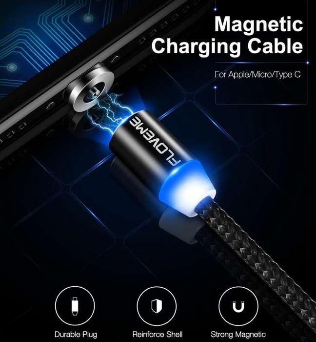Cable Cargador Magnético Imán