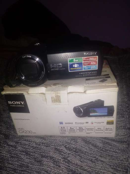 Vendo O Cambiofilmadora Sony