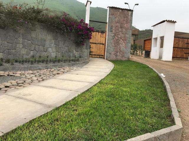 Se vende lindo terreno en Pachacamac, ideal para casa de campo
