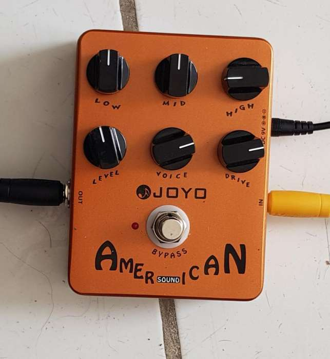 Pedal American Sound Distortion