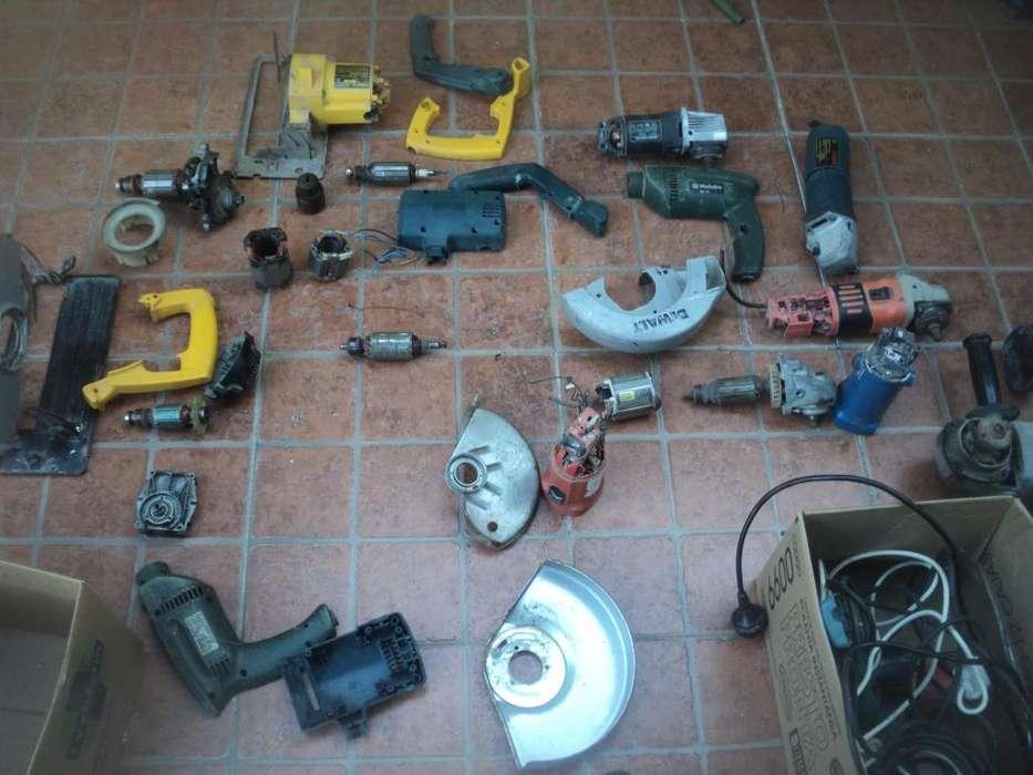 repuestos de varias maquinas usados taladros cierras circular