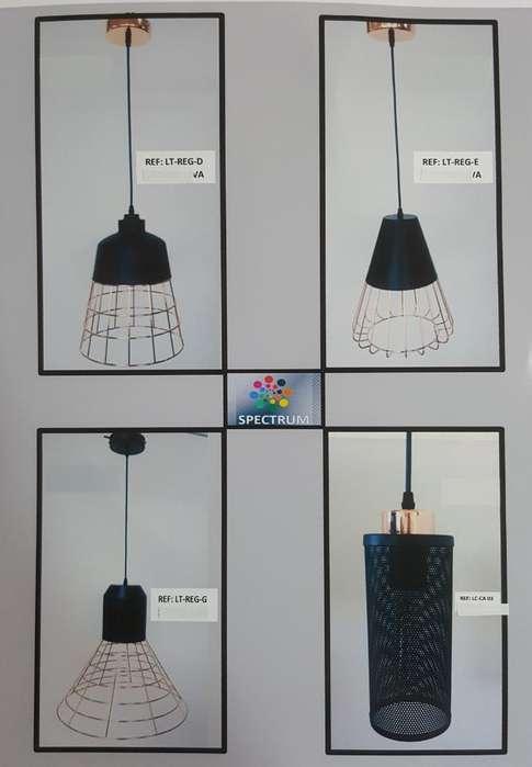 Lamparas Vintage Cobrizadas Iluminacion
