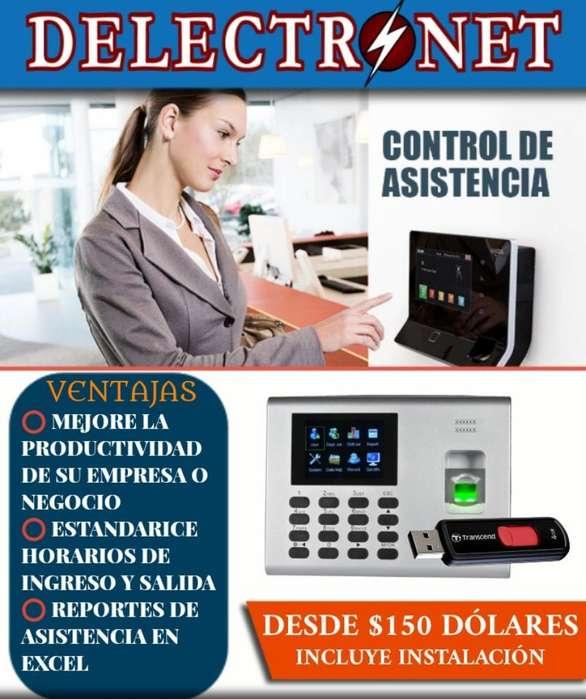 Control de Asistencia Biometrico Quito