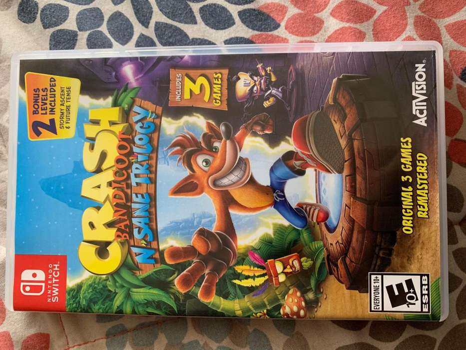 VENDO CRASH BANDICOOT NSANE TRIOLOGY - NINTENDO SWITCH NUEVO