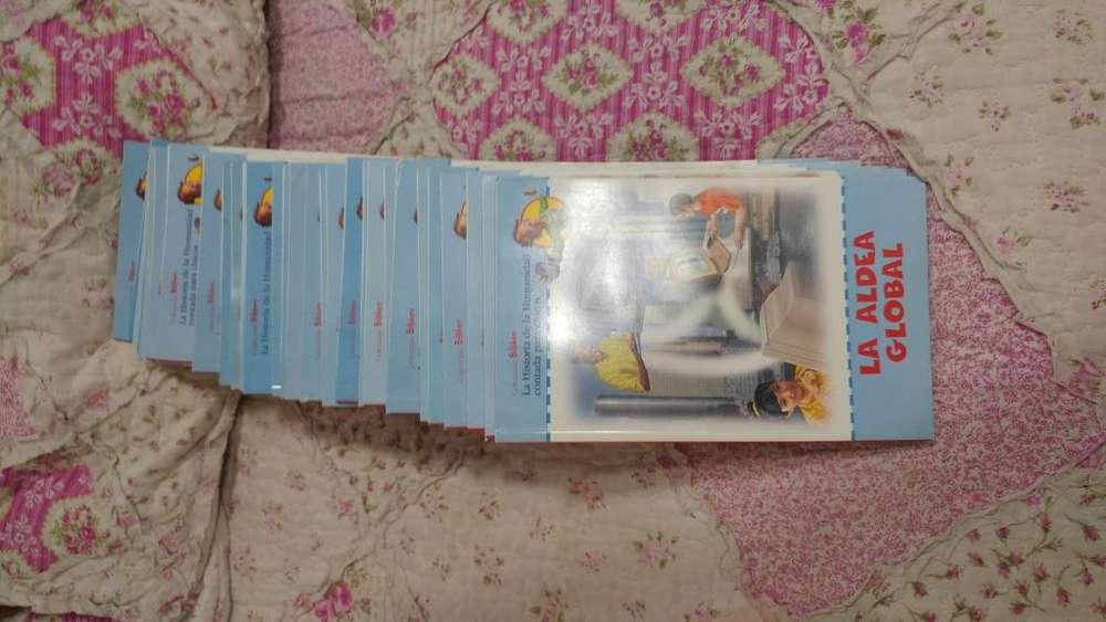 LIBROS HISTORIA DE LA HUMANIDAD 34 libros watsap 116-140-0746
