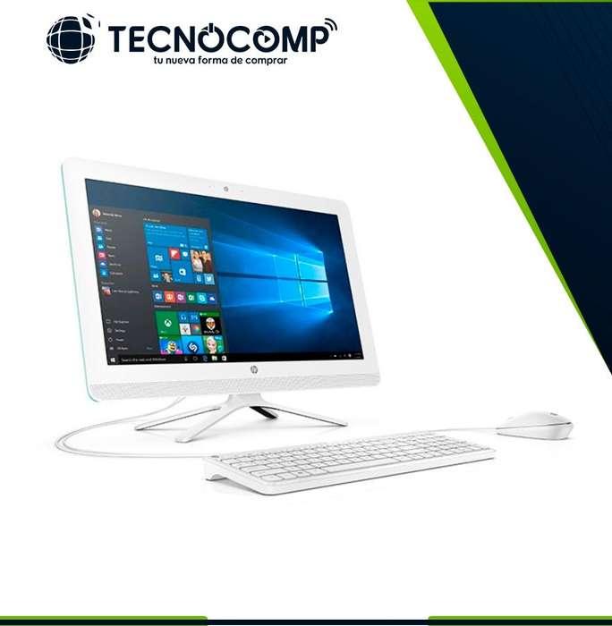 COMP. HP TODO EN UNOHp 22-b201la Color Blanca