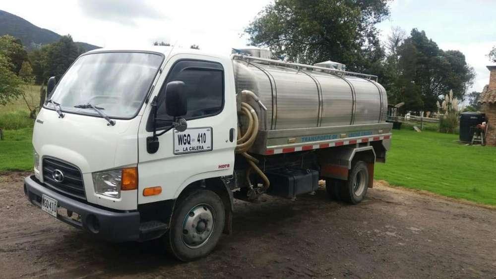 vendo camión marca hyunda HD 78 modelo 2015 con tanque en acero