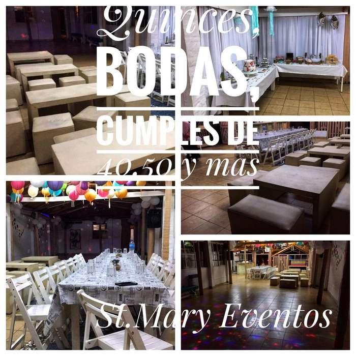 Salón de Fiestas en Rosario