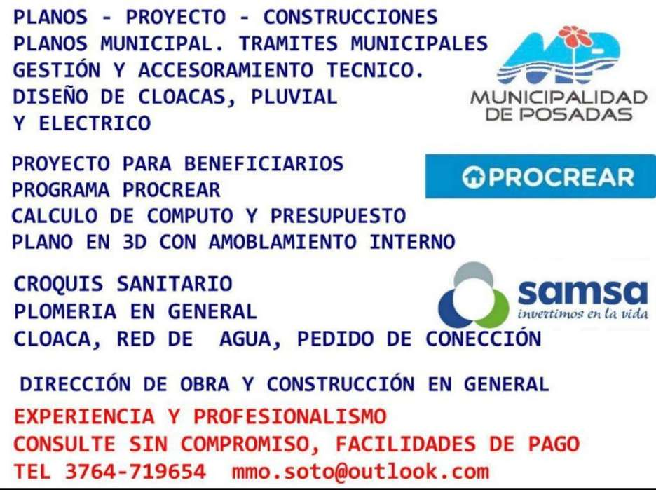Maestro Mayor de Obras Planos Municipal