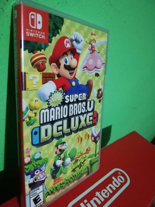 Super Mario Brosu Deluxe Nintendo Switch