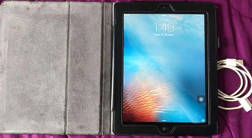 iPad 2 A1395 16Gb con Funda Y Cargador