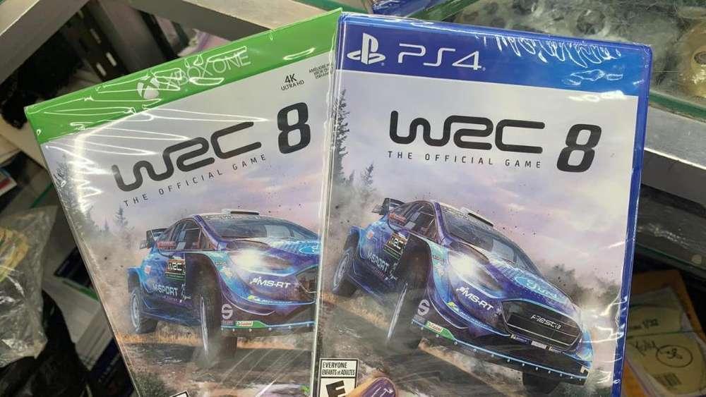 Wrc 8 Disponible