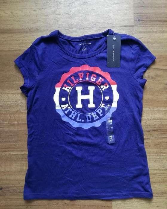 Camiseta Tommy Original Talla 8-10 Nueva