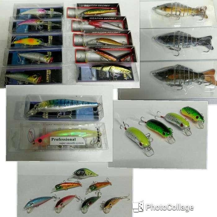 Señuelos de Pesca Tipo Rapala