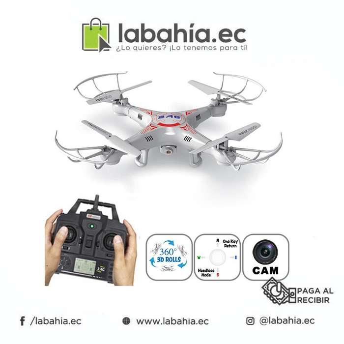 Drone X5c Wifi, Camara Y Video En Tiempo Real Desde Celular