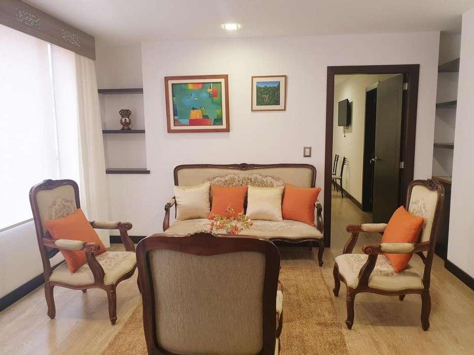 Suite amoblada en alquiler sector Avenida Solano edificio moderno