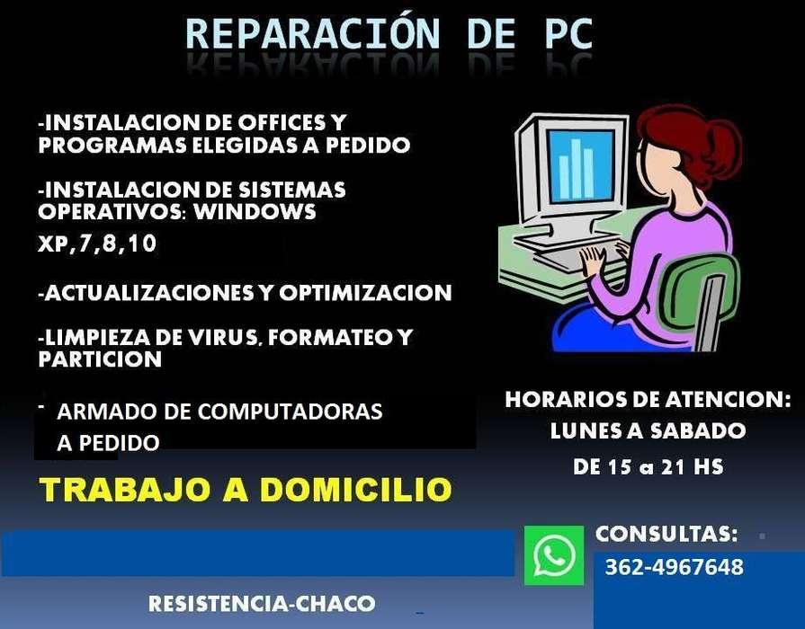 REPARACIÓN DE PCs