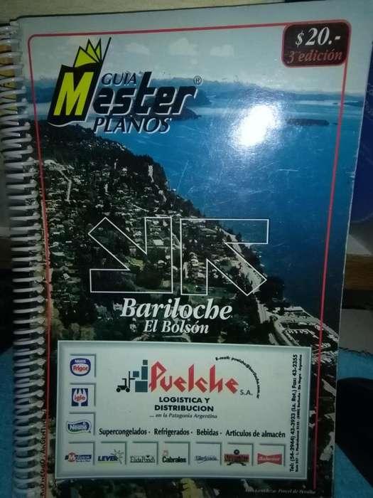 Usado, Guía Master Planos Bariloche El Bolsón segunda mano  Esteban Echeverría