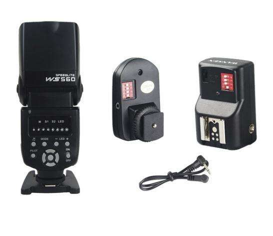 2 Flash Disparador/receptor Remoto Luz Fotografìa