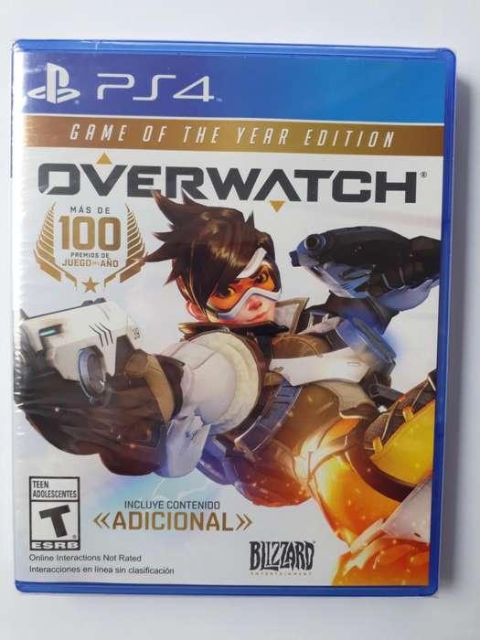 Overwatch juego PS4 Nuevo y Sellado en Español Edición del Año Incluye contenido adicional